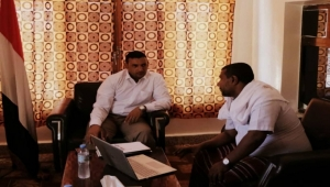 محروس يطلع على استعدادات لجنة الطوارئ لمواجهة الكوارث في سقطرى