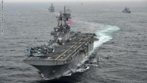 الجيش الأمريكي يعلن عن عملية بحرية في مياه الخليج