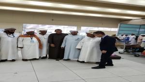 بمكرمة من سمو الامير فهد بن تركي نقل حجاج بيت الله من أبناء سقطرى عبر الطيران مباشرة الي سقطرى