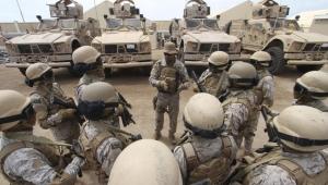 قوات سعودية تعيد انتشارها في قاعدة العند الجوية
