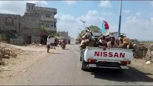 """اللواء التاسع صاعقة التابع ل""""عيدوس الزبيدي """" في أبين يتمرد على اللجنة السعودية ويرفض الانسحاب من زنجبار"""
