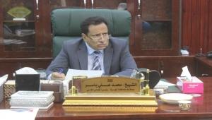 محافظ محافظة المهرة يعزي السلطة المحلية بالمسيلة في ضحايا المنخفض الجوي ويوجه بصرف أربعة ملايين لأسر المتوفيين