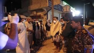 المهرة .. توجيهات من المحافظ بن ياسر لتقديم أوقات حظر التجوال في الغيضة