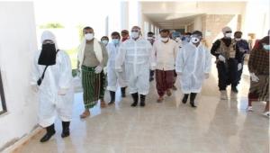 حضرموت :مستشفى تريم يغلق الطوارئ بعد اشتباه إصابة أحد العاملين