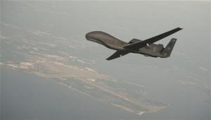 إسقاط طائرة تجسس أمريكية في مدينة حرض شمال اليمن
