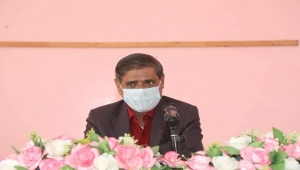 محافظ حضرموت يلتقي أطباء المنطقة العسكرية الثانية ويعلن صدور قرار لرئيس الجمهورية بترقية اطباء