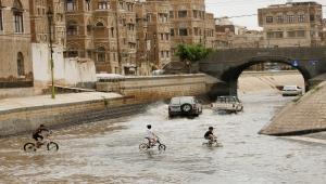 """الأمطار والسيول تغرق اليمن.. ووفاة 172 شخصاً """"صور"""""""