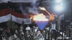 مدن يمنية وجبهات قتالية توقد الشعلة الـ58 للثورة اليمنية