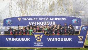 باريس سان جيرمان يتوج بكأس السوبر الفرنسي للمرة الـ10 في تاريخه