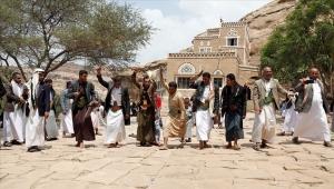 """""""دار الحجر"""" باليمن.. رقصة البرع تتجاهل أزيز الحرب (تقرير)"""