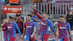 برشلونة يبدأ مرحلته الجديدة في الليغا بفوز مقنع على سوسيداد