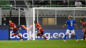 إسبانيا تهزم إيطاليا وتعبر إلى نهائي دوري الأمم الأوروبية