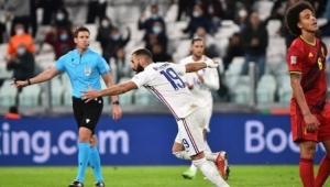 فرنسا تتأهل إلى نهائي الأمم الأوروبية بفوز صعب على بلجيكا