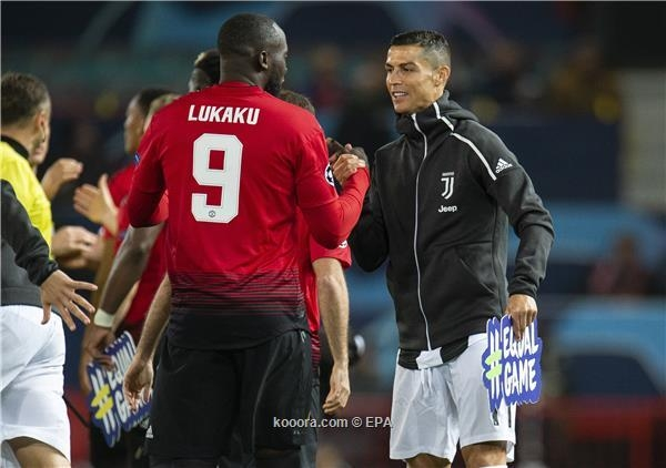 رونالدو يعطي رأيه ليوفنتوس بشأن لوكاكو