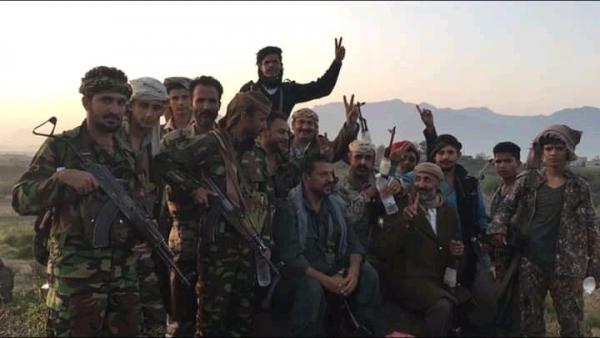 الجيش الوطني يحرر مواقع جديدة غرب الضالع