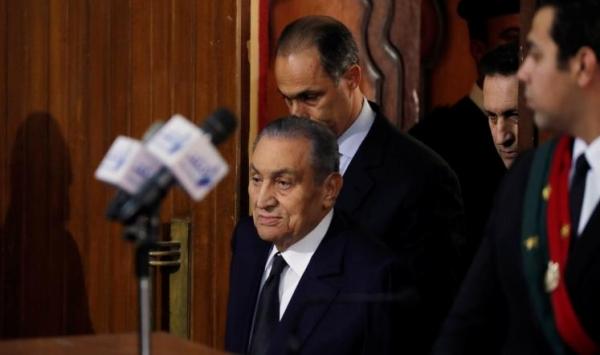 وفاة الرئيس المصري الأسبق حسني مبارك