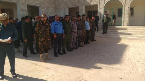 مليشيا الإمارات تدشن أول مؤسسة أمنية موازية للحكومة الشرعية في سقطرى