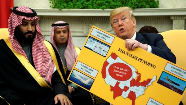 """قناة أمريكية تكشف عن توجيهات من """"بومبيو"""" لتسريع صفقة بيع أسلحة بـ 8 مليارات للسعودية"""