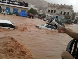 إب ... غرق أسرة كاملة نتيجة سيول الامطار