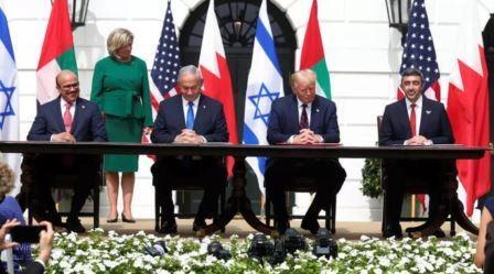 """الإمارات والبحرين توقعان اتفاقيات التطبيع مع اسرائيل في واشنطن برعاية """"ترامب"""""""
