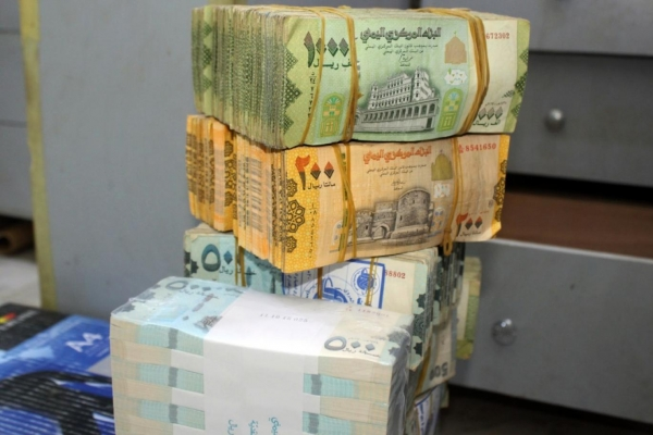 استمرار تراجع أسعار صرف العملات في عدن