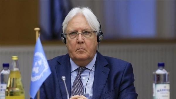 """""""غريفيث"""" ينفي علاقته بوصول سفير طهران الى صنعاء"""