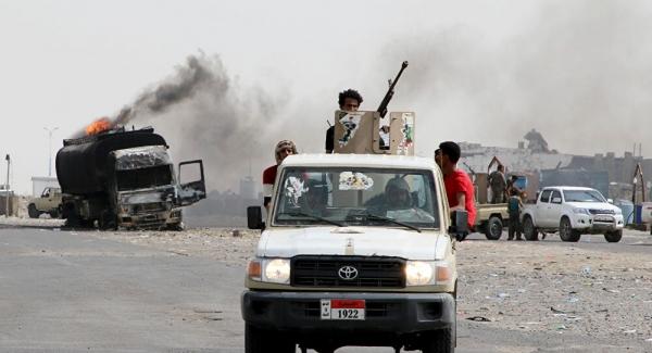 الجيش يحقق مكاسب ميدانية على حساب الانتقالي في أبين اثر تجدد المواجهات