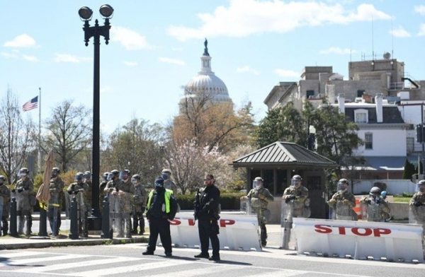 قتيل وإصابات بهجوم على مبنى الكونغرس