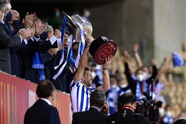 ريال سوسييداد يظفر بكأس ملك إسبانيا 2020 على حساب بيلباو