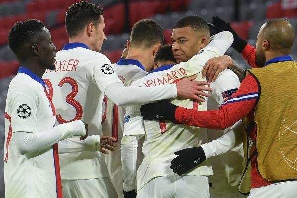 باريس سان جيرمان يحقق فوزا مثيراً على بايرن ميونيخ