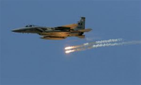طيران التحالف يشن 16 غارة على مواقع الحوثيين بمأرب