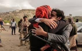 جماعة الحوثية تعلن نجاح عملية تبادل أسرى مع القوات الحكومية