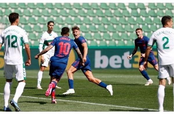 أتلتيكو يحقق فوزا ثمينا في الليغا قبل مواجهة برشلونة