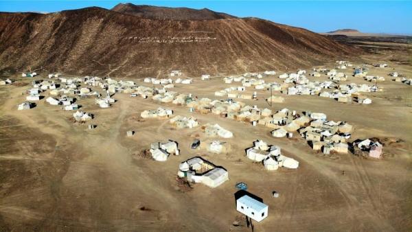 الهجرة الدولية: نزوح 130 أسرة يمنية في خمس محافظات