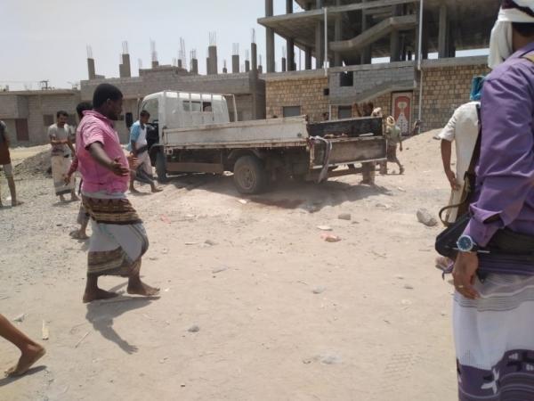 مقتل وإصابة 8 مسلحين بانفجار استهدف شاحنة جند للانتقالي في أبين