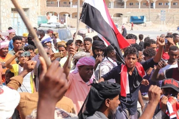 مليشيا الانتقالي تُقر منع التظاهرات والاحتجاجات في سقطرى