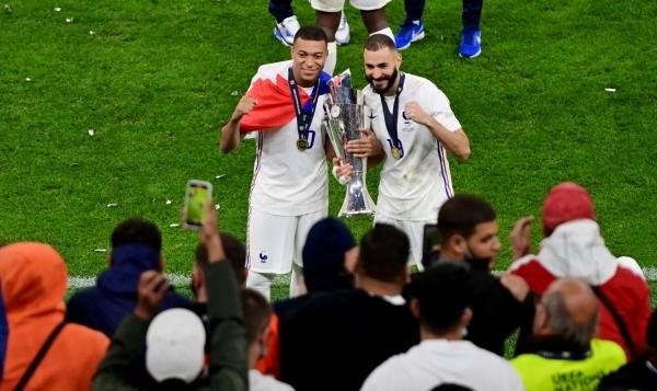 فرنسا تتوج بلقب النسخة الثانية من دوري الأمم الأوروبية
