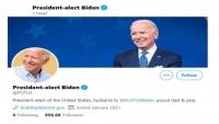 """""""تويتر"""" ينقل حساب ترامب إلى بايدن"""