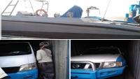 """""""استغلال رخيص"""".. ناشط إعلامي يؤكد بالصور الحمولات العسكرية للسفينة الإماراتية في ميناء سقطرى"""
