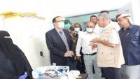 المهرة.. وزير الصحة يضع حجر الأساس لمشروعين صحيين